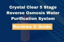 Crystal Clear 5 Stage Reverse Osmosis Water Purification System Review
